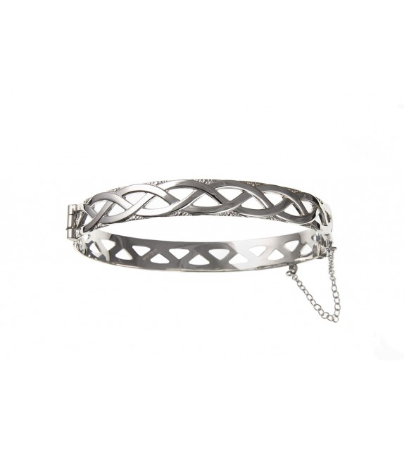 Celtic Hinged Bangle