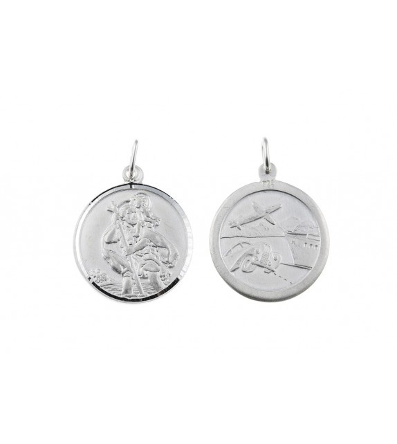 Silver St.Christopher's Medal