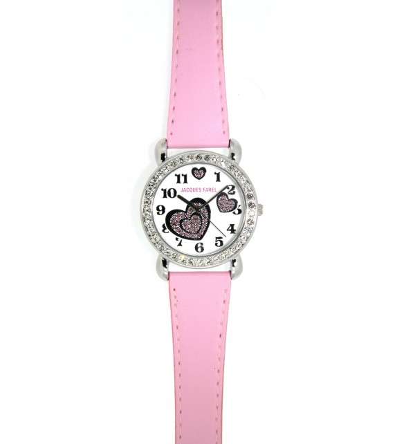 Pink Childs Watch